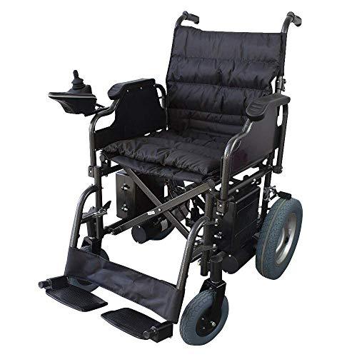 Silla ruedas eléctrica | Plegable | Acero | Con motor
