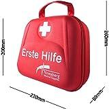 Nowaberg Medical Supplies Erste-Hilfe-Set für Sport, zu Hause, im Büro, im Wohnwagen, beim Camping, bei Ausflügen oder auf Reisen. Tasche mit 85-teiligem Inhalt für den Notfall -