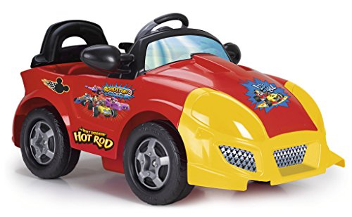FEBER - Coche eléctrico infantil Mickey (Famosa 800010941)