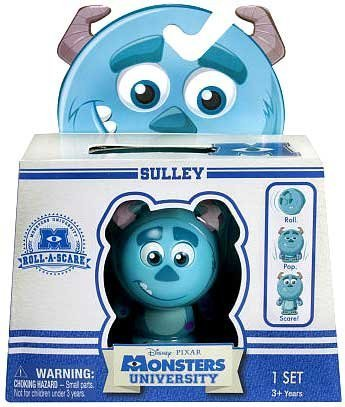 Disney Pixar Monsters University - Monstruos Roll-A-Scare - Sulley