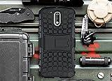 Cocomii Grenade Armor Motorola Moto G4/G4 Plus Funda [Robusto] Superior Táctico Sujeción Soporte Antichoque Caja [Militar Defensor] Cuerpo Completo Sólido Case Carcasa for Moto G4 (G.Black)