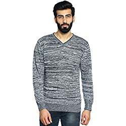 Duke Stardust Men Regular Fit Sweater Black Coloured X-Large