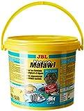 JBL NovoMalawi 30012 Alleinfutter für algenfressende Buntbarsche, Flocken 5,5 l
