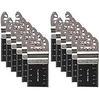 """oxoxo 1–3/8""""(35mm) para sierra oscilante multiherramienta cuchillas de sierra de liberación rápida para Fein, Porter Cable, Black & Decker, Bosch, Dremel, Craftsman Multi herramientas"""