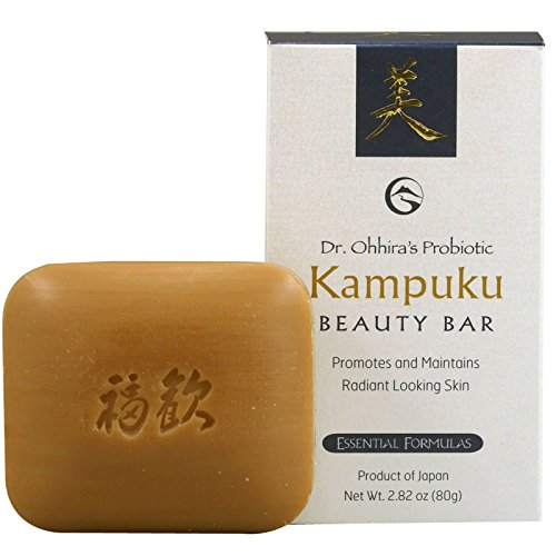 Essential Formulas - Dr. Ohhira's Probiotic Kampuku Bar Soap 80 Grams by Dr. Ohhira's Probiotics