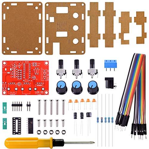 Hemobllo DIY Signal Generator Kit Sine Dreieck Quadrat Ausgang 1Hz-1MHz Einstellbare Frequenz