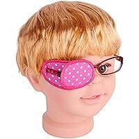 Preisvergleich für Reine Baumwolle Amblyopie Eye Patch für Gläser, behandeln Lazy Eye, Amblyopie und Schielen, Eye Patch für Kinder...
