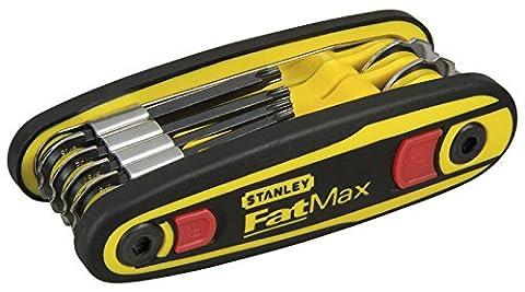 Stanley 097553 T9 - T40 Fatmax Locking Hex Key Set Torx
