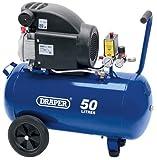 Draper 50L 230V 1.5kW (2hp) Air Compressor - 24981