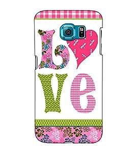 Fuson Designer Back Case Cover for Samsung Galaxy S6 Edge+ :: Samsung Galaxy S6 Edge Plus :: Samsung Galaxy S6 Edge+ G928G :: Samsung Galaxy S6 Edge+ G928F G928T G928A G928I (Love theme )