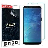 JundD Kompatibel für 8er Set OnePlus 5T Bildschirm Schutzfolie, [Nicht Ganze Deckung] Premium HD-Clear Schutzfolie für OnePlus 5T