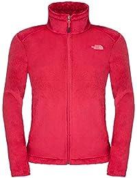 The North Face Osito 2 chaqueta de las mujeres, Mujer, color Rosa - Cerise Pink, tamaño L