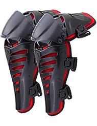 ridgeyard Racing Moto Motocross Genouillères Protection d'écran Corps de protection Protège-tibias pour Adulte