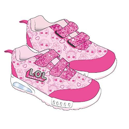 Cerdá deportiva luces lol, scarpa da ginnastica bambina, rosa, 32 eu