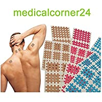 Medicalcorner24 18 Bögen Cross Tape, Cross Patches, Akupunktur-Pflaster, Gitterpflaster, Kinesiologie Gittertape... preisvergleich bei billige-tabletten.eu