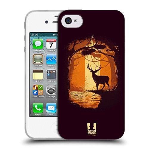 Head Case Designs Occhio Icone Dellantico Egitto Cover Retro Rigida per Apple iPhone 7 Plus / 8 Plus Renna