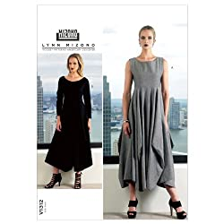 VOGUE PATTERNS V1312B50 Misses' Dress Sewing Pattern, Size B5 (8-10-12-14-16)