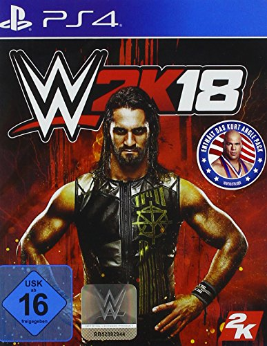 WWE 2K18 - Standard Edition - [PlayStation 4] (Wrestling Video-spiele)