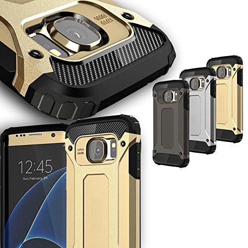 Mobilefox Schutz-Hülle Safe-Grip Case Bumper Cover Apple iPhone 4/4S Silber Schwarz