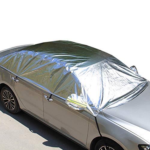 DGLIYJ Auto Sonnencreme Isolierung Sonnenblende Halbe Abdeckung Auto Schatten Sonnenschirm Frontscheibe Sonnenblende Vorhang/Auto Benutzerdefinierte