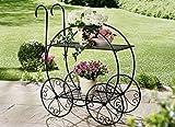 Pflanzständer auf Räder Pflanzwagen Bepflanzung Pflanzenständer Außendeko Gartendeko Garten