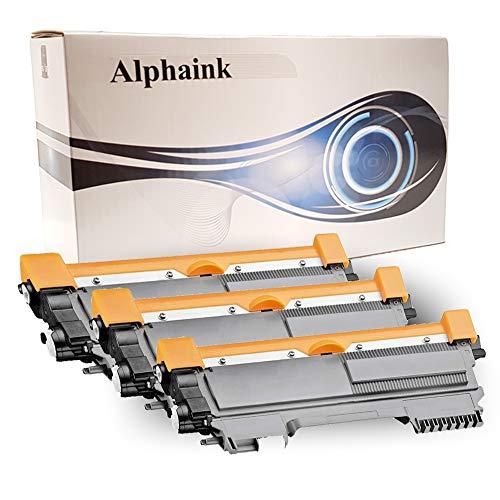 Alphaink AI-KIT-3-PFTN2220 Toner PATENTATI Compatibili per Brother TN2220 TN2010 HL2230, HL2240, HL2250, HL2250DN, DCP7060D, 7860DN, MFC7360N HL2130, HL2132, HL2135W, DCP7057, FAX2840 2600 copie (3)