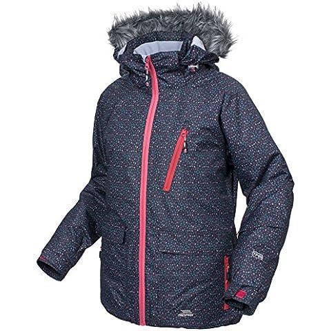 Trespass Daru - Chaqueta de esquí para mujer, color negro, talla S