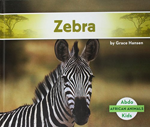 Zebra (African Animals) por Grace Hansen