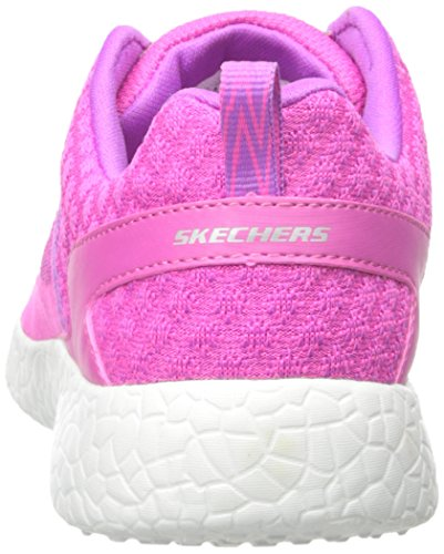 Skechers - Burst Ellipse, Sneaker Bambina Hot Pink/Coral