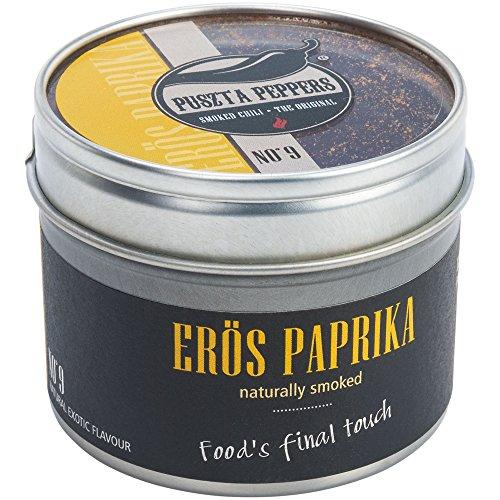 Puszta Peppers  Smoked Erös Paprika - scharfes Paprika Pulver geräuchert - natural smoked powder -...