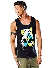 Zumba Fitness Herren Mens Rio Tank