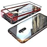 Funda para Huawei Mate 20 Lite Cover Magnetic Adsorption Carcasa Bumper de Metal...