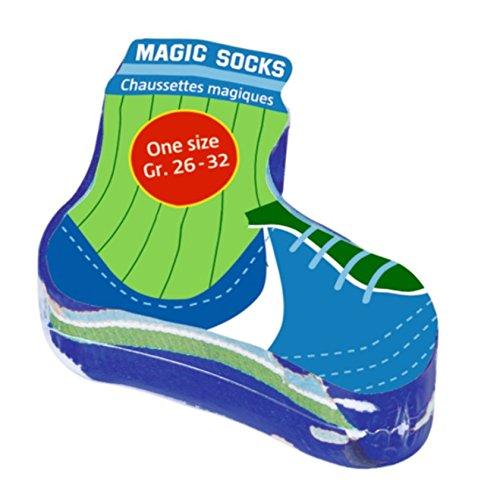 Magic Socks Fußball von Spiegelburg (blau)