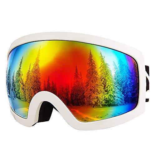 Skiing & Snowboarding Well-Educated Propro New Kids Childrens Ski Skiing Glasses Double Layers Shockproof Lens Colorful Coating Warm Breathable Anti-fog Goggles Quality First