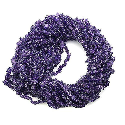 1fili (86,4cm) di vera ametista naturale della pietra preziosa chips beads. deep color, prezzo all' ingrosso. prepared exclusively by gemmartusa