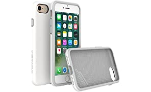 RhinoShield Case FOR IPHONE 8 / IPHONE 7 [NOT Plus] [PlayProof] | Heavy Duty Shock Absorbent [High Durability] Scratch Resistant. Ultra Thin. 11ft Drop Protection Rugged Cover - White