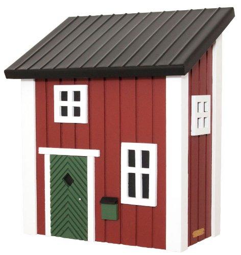 Briefkastenhaus im schwedischen Häusschen Stil