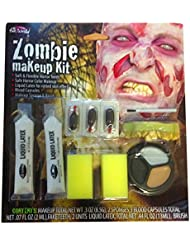 Maquillage untoter Zombie se abschälende Peau Halloween Horror Costumes spécial FX Kit neuf