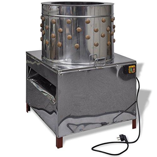 Elektrische Geflügelrupfmaschine mit 91 Rupffinger 50 cm 1500 W