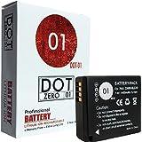 DOT-01 Brand Panasonic Lumix DC-ZS70 Battery For Panasonic Lumix DC-ZS70 4K Digital Camera And Panasonic ZS70 Battery Bundle For Panasonic BLG10 DMW-BLG10