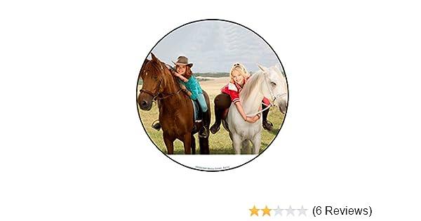 Tortenaufleger Bibi Und Tina Pferde Amazon De Lebensmittel Getranke