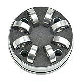 PULNDA 8 Pcs ABEC 11 Roulements de Planches à Roulettes en Céramique Premium Si3N4 Silicon Nitride avec 4 Manchons