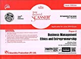 Scanner CS Foundation Programme (2017 Syllabus) Paper-2 Business Management, Ethics and Entrepreneurship