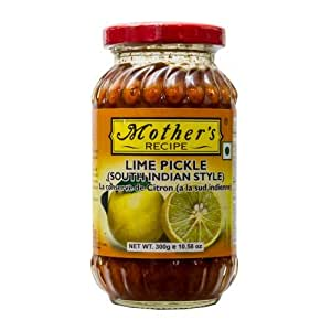 Mother's Recipe South Indian Style Lime Pickle, 300g