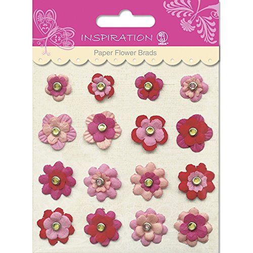 Paper Flower Brads (PAPER FLOWERS BRADS MOTIV 03)