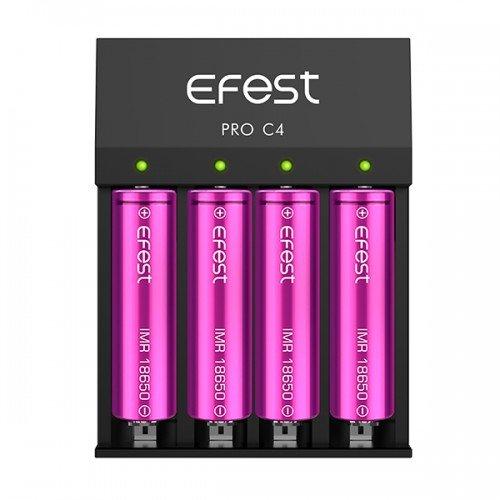 Efest Pro C4 LI-Ionen Ladegerät