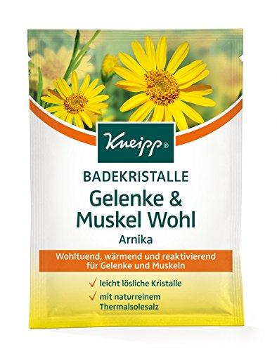Kneipp Badekristalle Gelenke & Muskel Wohl, 12er Pack (12 x 60 g)
