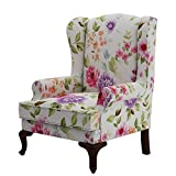 ARRA Hamilton Wing Chair Pink Blossom