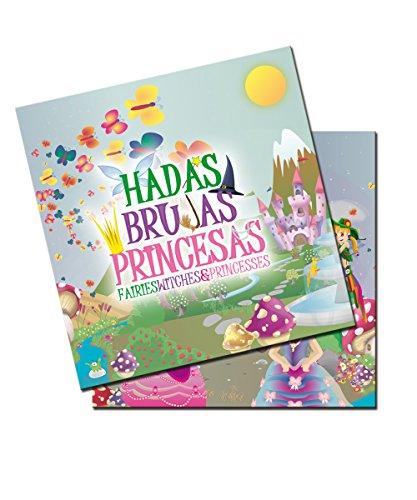 Verbetena - 20 servilletas Hadas, brujas y princesas (012050070)