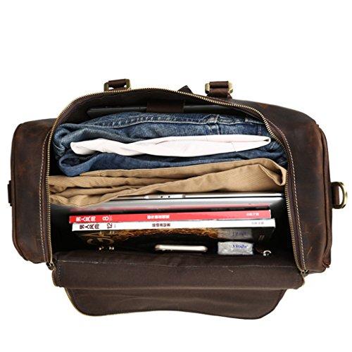 L.Y.D - Portatrajes de viaje marrón marrón long 43cm* high 26cm*20 thick.
